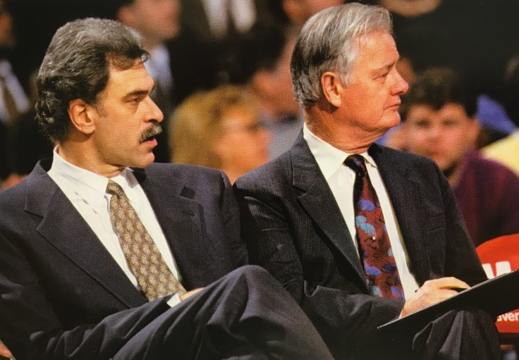 Tex and Phil Jackson
